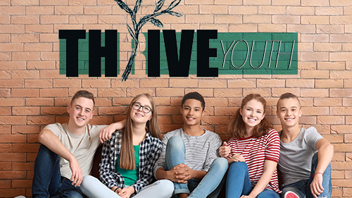 Thrive Youth Ministry Graphic