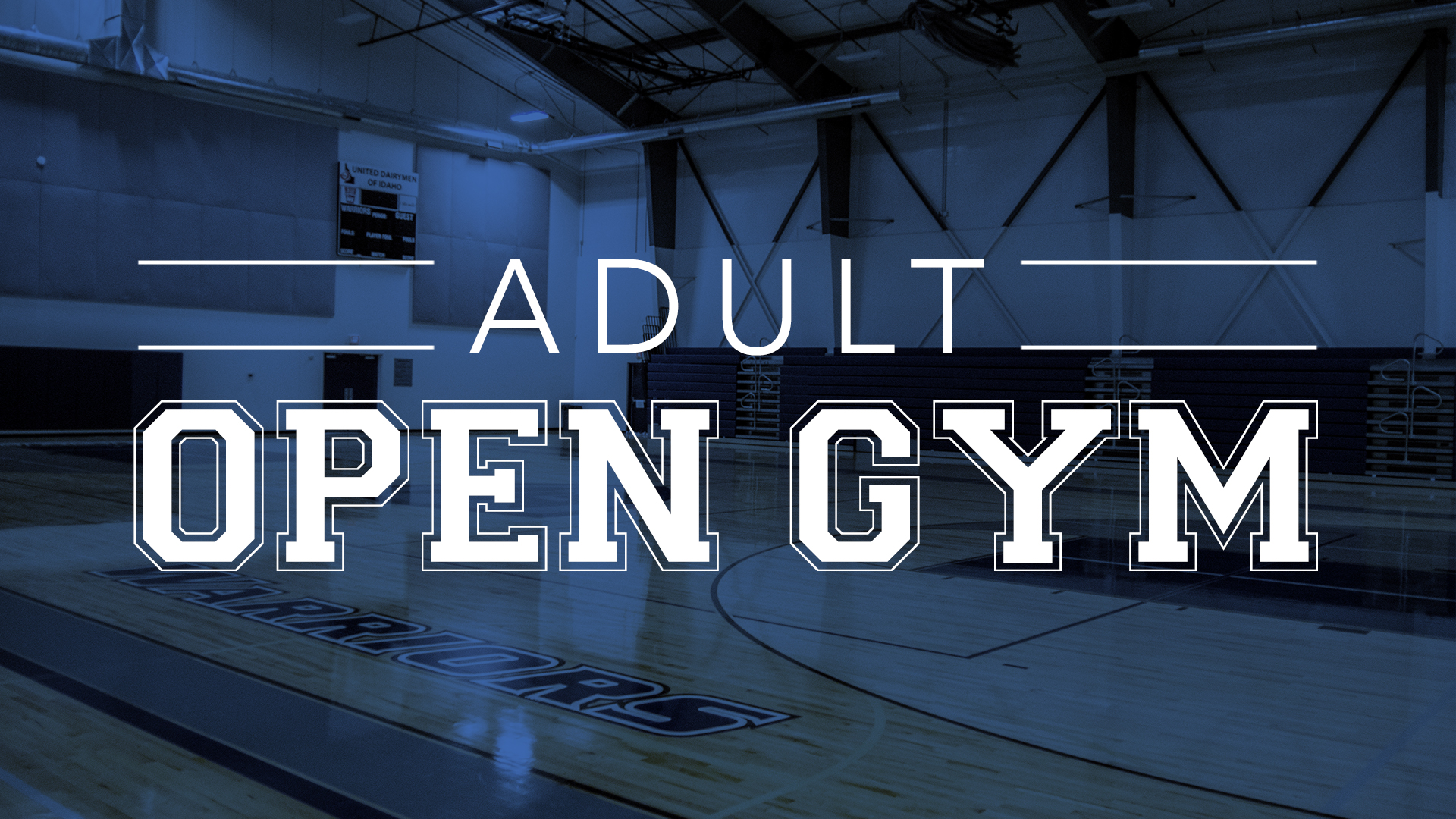 Adult Open Gym
